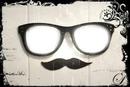 Lunette + moustache