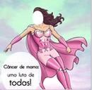 mulher maravilha contra o cancer de mama