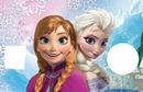 snow of anna and elsa