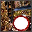 cadre noel 1 photo dans une boulle