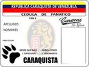 Credencial Caraquista