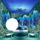 3d wall-dolphins-wedding-hdh