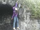 percher sur une pierre