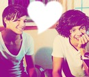 Harry Styles and Louis Tomlinson
