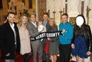 Niall et sa famille au Baptême de Théo