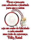 """Mensagem de Natal By""""Maria Ribeiro"""""""