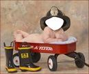 bébé pompier