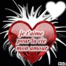 je t'aime pour la vie mon amour