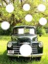 carro de natal antigo
