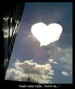 kad nebo kaze volim te