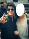 Bruno Mars et une fan ♥