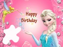 Happy Birthday with Tinkerbell & Elsa from Frozen