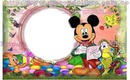 marco infantil mickey