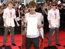 Sua foto na camisa do Justin Bieber