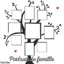 Portrait de Famille Arbre de Vie