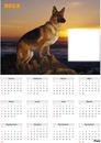 Calendario de Pastor Alemán