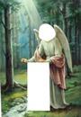 jesus y el angel