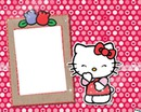 bingkai foto hello kitty