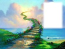 Nature - escalier - nuage