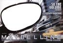 Maybelline Volum Express Maskara Afiş Sahne