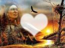 Indien,aigle,coeur