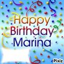 Joyeux anniversaire Marina