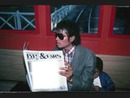 Michael and news paper