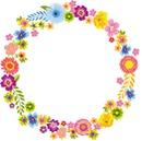 roda de flores