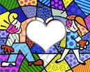 Coração do Romero Brito