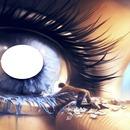 1 photo dans un oeil