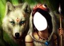 Femme&loups.