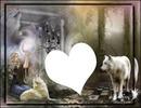 loups coeur