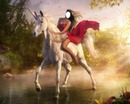 la femme et la licorne