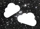 nuage dans les étoiles