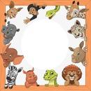 cadre 1 photo animaux zoo