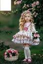Enfants et fleurs