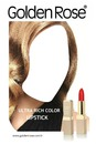 Golden Rose Ultra Rich Color Lipstick Advertising 2