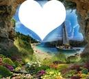 un coeur a l'horizon