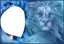 lion et femme