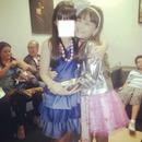 Eu e a Larissa Manoela