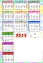 calendario 2013 en español