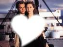 Titanic Jack et rose coeur