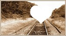 coeur tran sépia ♥