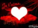 je t'aime coeur
