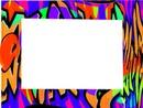 cadre tags coloré -1 photo