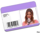 violetta carteira de fã