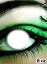 vert de l'oeil