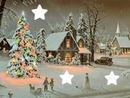 Noël Neige étoiles