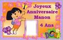 Dora anniversaire