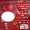 1 photo Anniversaire love coeur iena